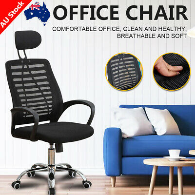 AU61 • Buy Office Computer Gaming Chair Executive Racer Recliner Chairs Mesh Seat New