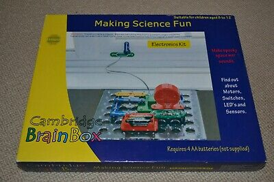 £15 • Buy Cambridge Brainbox Electronics Kit