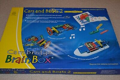 £25 • Buy Cambridge Brainbox Electronics Kit 'Cars And Boats 2'