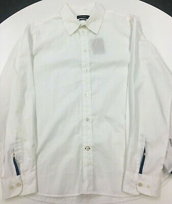 Paul Smith Men's Tailored Fit White Shirt, XL • 14.99£