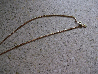 Nikki Lissoni Medium Rose Gold Plated Chain In Brand Envelope 18nches Long • 4£