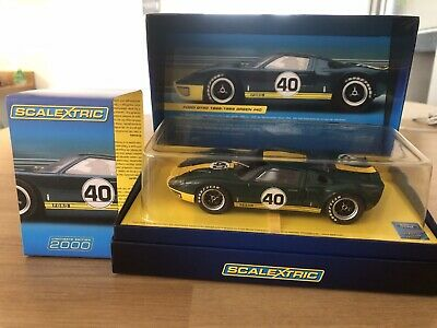 Scalextric Ford GT40 1966-69 #40 German Limited C2942A #1949 Of 2000 Worldwide • 55£