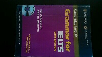 £15.99 • Buy Cambridge Grammar For Ielts With Answers : Self-study Grammer Reference
