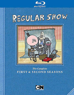 Cartoon Network: Regular Show Season 1 & Season 2 [Blu-ray] • 16.38£