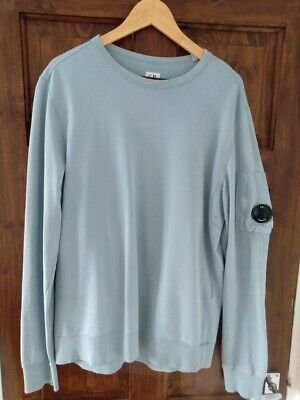 CP Company Sweatshirt Jumper Sky Blue Size XL, Excellent Condition • 25£