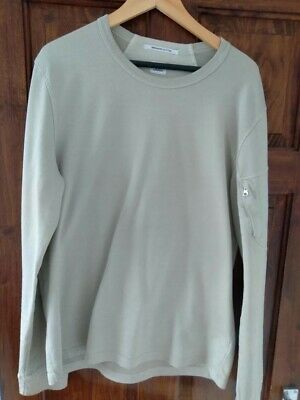 Cp Company Cream / Light Tan Sweatshirt Size Large • 12.30£