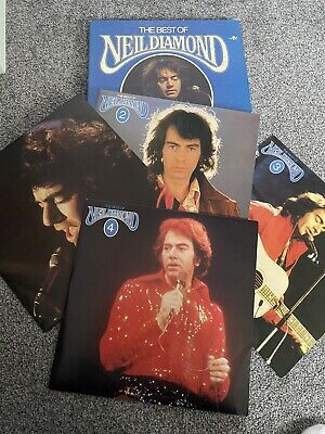 The Best Of Neil Diamond 4 LP Box Set • 4.99£