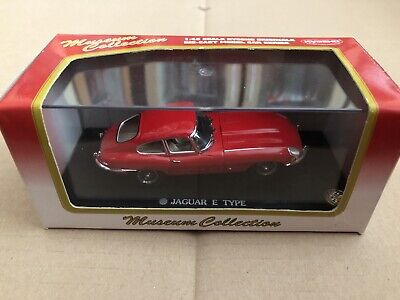 1:43 Kyosho Museum Collection Jaguar E Type Coupe Red 03062R • 15.99£