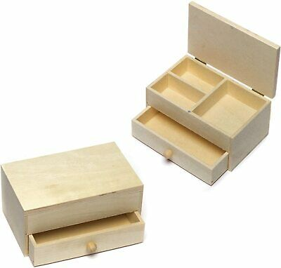 Baker Ross Wooden Jewellery Boxes Craft Project — Ideal For Kids' Arts And...  • 22.29£