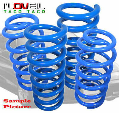 $74.99 • Buy For 03-07 Accord V6/04-08 TL Suspension Lower Lowering 1.8  Drop Spring Kit Blue