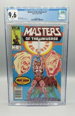 $199 • Buy MASTERS OF THE UNIVERSE #1 CGC 9.6 WHITE PAGES Newsstand // MARVEL COMICS 1986