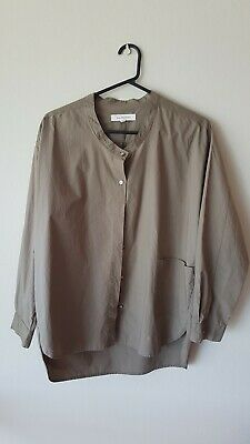 AU33.07 • Buy Lee Mathews Army Green Button Up Shirt Size 0/XS With Pocket Feature
