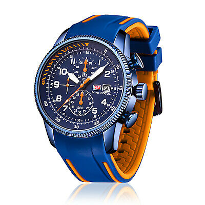 $25.98 • Buy Men's Watch Reloj De Hombre Sports Style Silicone Rubber Watches Chronograph New
