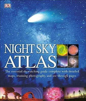£5.35 • Buy Night Sky Atlas: The Universe Mapped, Explored, And Revealed [Hardcover] DK