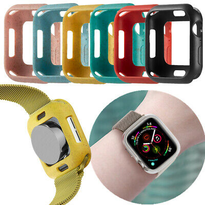 $ CDN5.29 • Buy For Apple Watch Series SE 6 5 4 3 2 TPU Protective Case Bumper Cover Accessories
