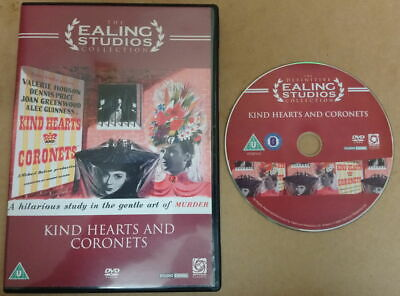 Kind Hearts And Coronets (DVD, 2006) - The Ealing Studios Collection • 3£