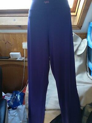 Ryka Apparel Women's Relaxed Fit Pant, Purple US Xl ( Approx Uk 18)  Rrp $50.00 • 9.99£
