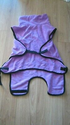£12 • Buy Dog Drying Coat/ Indoor Towelling Gown, After Swimming Size S New