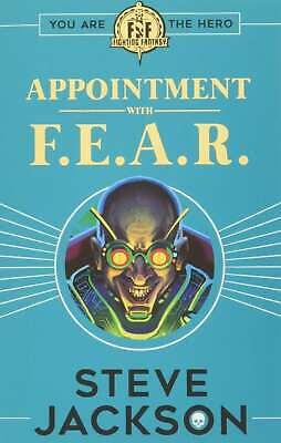 AU8.62 • Buy Fighting Fantasy: Appointment With F.E.A.R., Steve Jackson, New Book