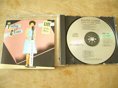 Patsy Cline - Live At The Opry - 12 Track Cd • 2.50£