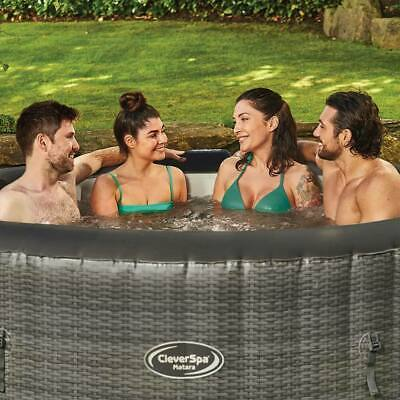 Cleverspa Matara Inflatable 6 Person Hot Tub **next Day Delivery** • 695£