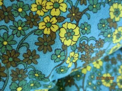Vintage 1960s Winter Cotton Viyella Fabric 232 X 90 Cm • 36.71£