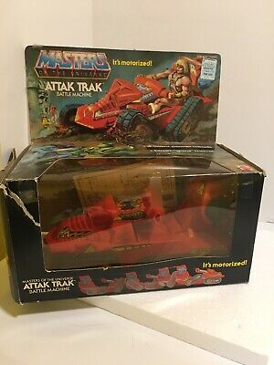 $35 • Buy Vtg 1982 MOTU Attak Trak He-man Masters Of The Universe With Box Working