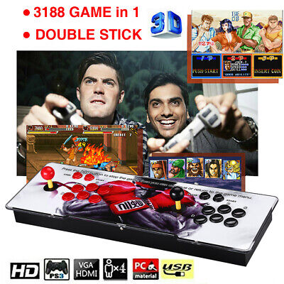 AU229.99 • Buy Pandora's Box 12 3188-in-1 Retro Games Console 2D HD Video Gaming Host 4Players
