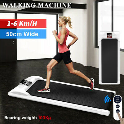 AU299 • Buy Electric Walking Pad Treadmill Home Office Exercise Machine Remote Control