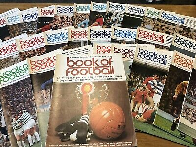 Marshall Cavendish Book Of Football - Magazine Bundle Collection Vintage Retro • 9£