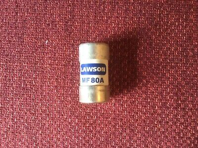 Lawson MF80A Cut Out Fuse - 80 Amp BS88 • 4£