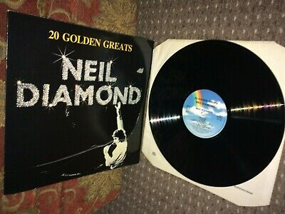 Neil Diamond. 20 Golden Greats LP. MCA MCTV 2. 1979. VG. • 1£