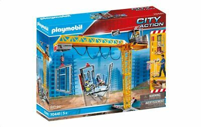 £89.99 • Buy Playmobil 70441 City Action RC Crane With Building Section