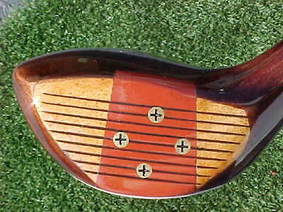 $50 • Buy PERSIMMON Wood Macgregor Jimmy Demaret Master 3552 Golf Club Refinished Driver