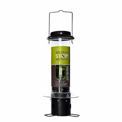 Tom Chambers Squirrel Proof Squirrel Stop! Bird Seed Feeder • 32.99£