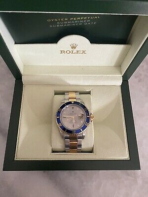 $ CDN16404.93 • Buy Rolex Submariner Stainless Gold Grey Dial