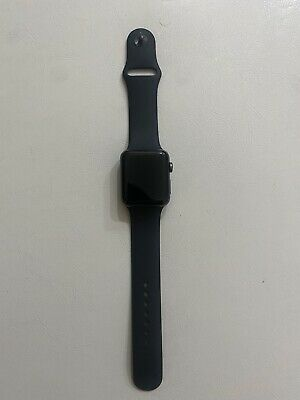 $ CDN122.50 • Buy Apple Watch Series 3 42mm Aluminium Case With Sports Band - Space Gray/Black
