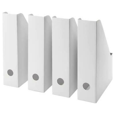 Ikea Fluns Card Magazine File Holder Storage Boxes Home Office VARIOUS MULTIPACK • 5£