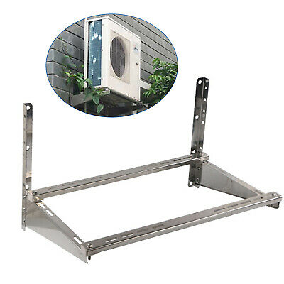 £36 • Buy Wall Mount Stainless Steel Bracket For Air Conditioner Heavy Duty 9.4LBS