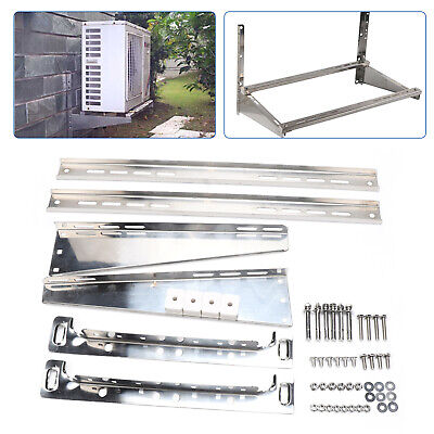 £36.03 • Buy Air Conditioner Bracket Holder Suppoter Wall Mount Galvanized Steel Stainless