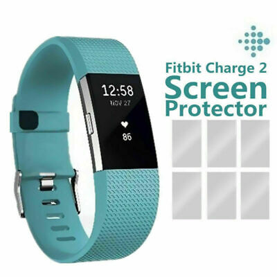 $ CDN4.72 • Buy 3PCS Premium HD Clear Screen Protector Film Guard Shield For Fitbit Charge 2