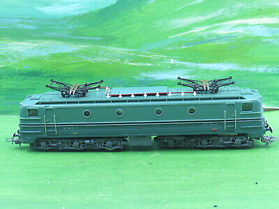 AU126.21 • Buy French Hornby Acho SNCF CC 7121 Electric Loco With Pantographs 2 Tone Green
