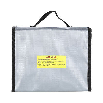 Anti-Explosion Lipo Battery Safe Bag 215x155x115mm For RC FPV Drone Storage Case • 10.86£
