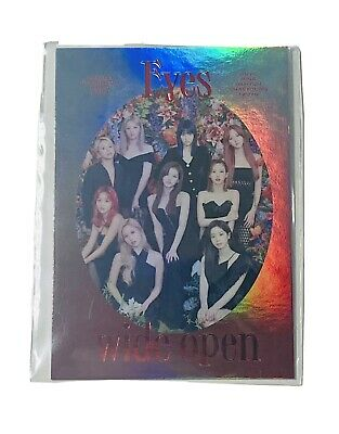 $ CDN2 • Buy Twice Eyes Wide Open Sealed Lenticular Group Card