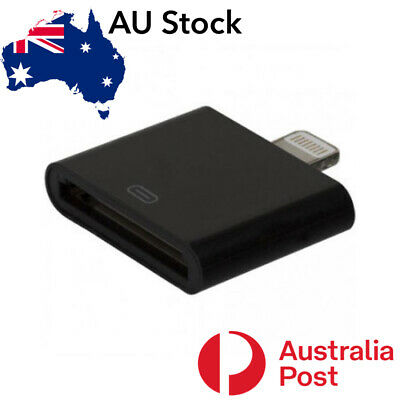 AU5.85 • Buy IPhone 30 Pin To 8 Pin Charging Adapter For IPhone 5, 6, 7, 8 X R IPad XS Max