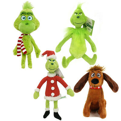 £6.49 • Buy How The Grinch Stole Christmas Grinch Max Dog Plush Toys Stuffed Doll Kids Gift