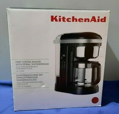 View Details Kitchen Aid Drip Coffee Maker With Spiral Showerhead RED - NEW (E/01/CC) AG • 59.00£