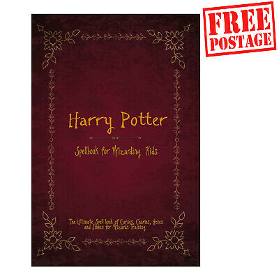 Harry Potter Spellbook The Ultimate Spell Book Of Charms, Curses, Hexes, Wizard • 8.69£
