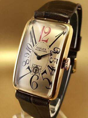 $ CDN257.30 • Buy VINTAGE & FINE MARCONI ( By ROLEX ) HAND WINDING 1940 GREAT CONDITION WristWatch