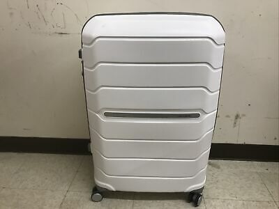 "View Details Samsonite Freeform Carry-On Spinner (White) 26""- Open Box • 99.00$"